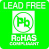 RoHAS COMPLIANT LEAD FREE (error, IT)