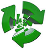 rotating recycling