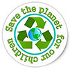 Save the planet for our children / 