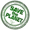 SAVE THE PLANET (stamp)