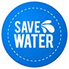 SAVE WATER (stock reminder)