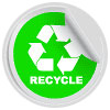 recycling seal (lite-green)
