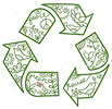 peace love green reuse