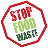 STOP FOOD WASTE (sign)