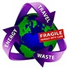 (sustain earth) ENERGY TRAVEL WASTE - FRAGILE