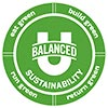 BALANCED (you) SUSTAINABILITY: eat / run / build / return green