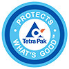 C/PAP TetraPak - PROTECTS WHAT'S GOOD (logo, IT)