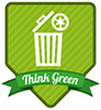 Think Green - use recycle bin