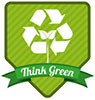 Think Green (recycle pride)