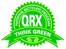NATIONAL RECYCLING PROGRAM QRX - THINK GREEN (seal)