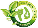 think GREEN (twice)