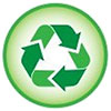tight recycling green (icon)