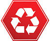 recycling - a'la traffic sign