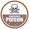 non-USDA food: sprayed by poison
