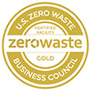 U.S. ZERO WASTE Business Council (GOLD seal)
