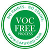 VOC FREE PROCESS - NO PAINTS, NO STAINS