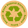 Waste Disposal Hierarchy: Reduce - Reuse - Recycle (US)