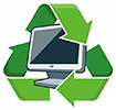 WEEE monitor recycling (UK)