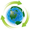whole Earth recycles