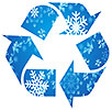 winter recycling