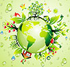 world green environment recycling