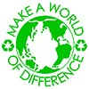 MAKE A WORLD OF DIFFERENCE (recycle)