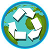 world recycling content