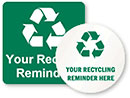 YOUR RECYCLING REMINDER HERE